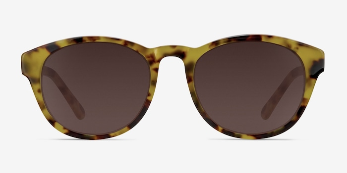 Brown/Tortoise Coppola -  Vintage Plastic Sunglasses
