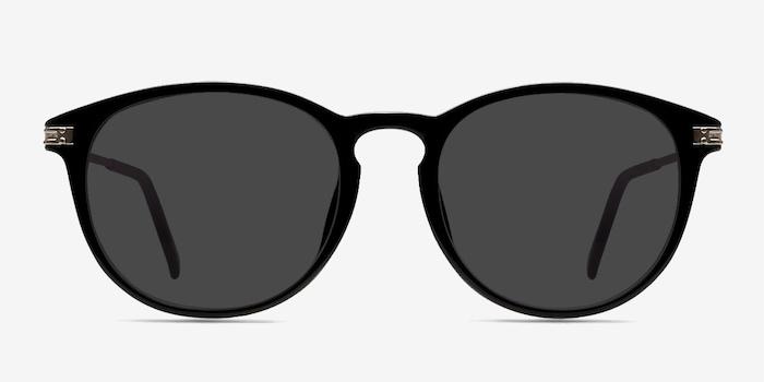 Black Monroe -  Plastic Sunglasses