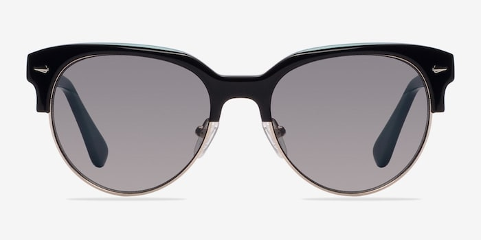 Black Carven -  Vintage Plastic Sunglasses