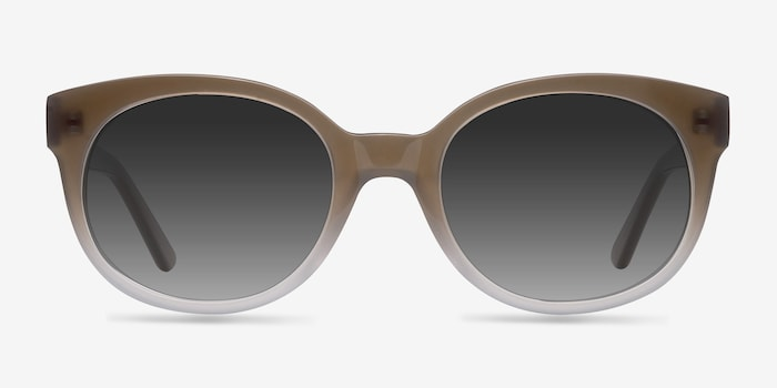 Brown Matilda -  Vintage Acetate Sunglasses