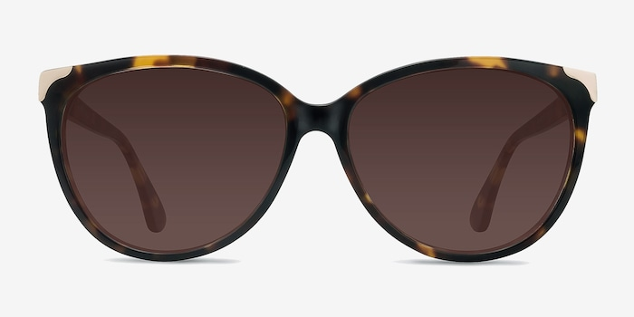 Tortoise Lima -  Vintage Acetate Sunglasses