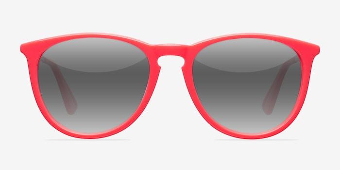 Interlude  Pink  Acétate Soleil de Lunettes d'EyeBuyDirect, Vue de Face
