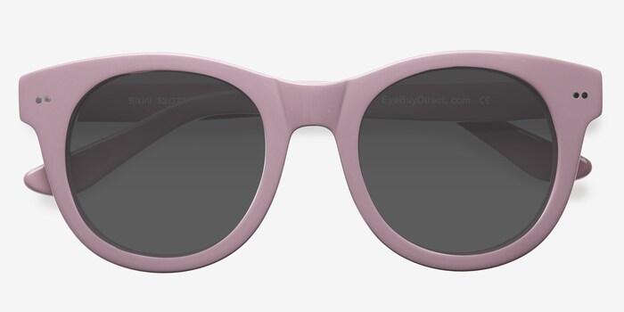 Bikini Rose Acétate Soleil de Lunettes d'EyeBuyDirect, Vue Rapprochée