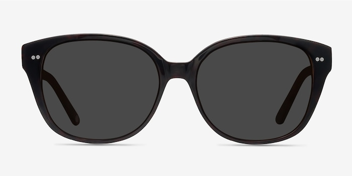 Lune Noire  Dark Red  Acetate Sunglass Frames from EyeBuyDirect, Front View
