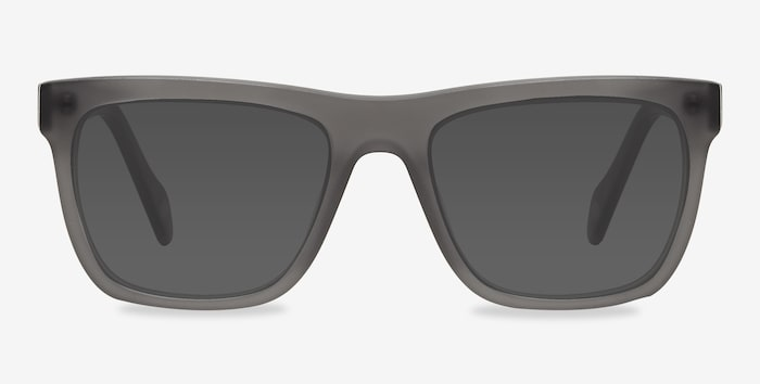 Matte Gray Virtual -  Acetate Sunglasses