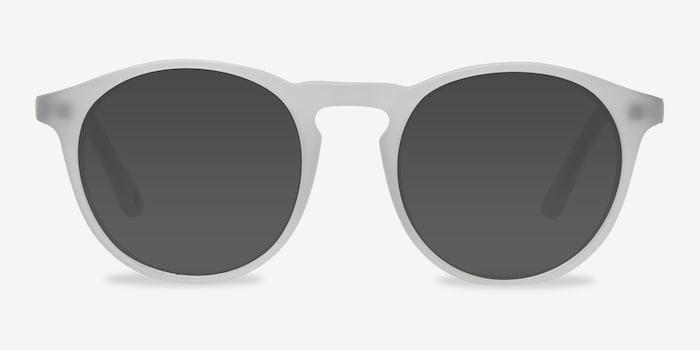 Matte White Air -  Acetate Sunglasses