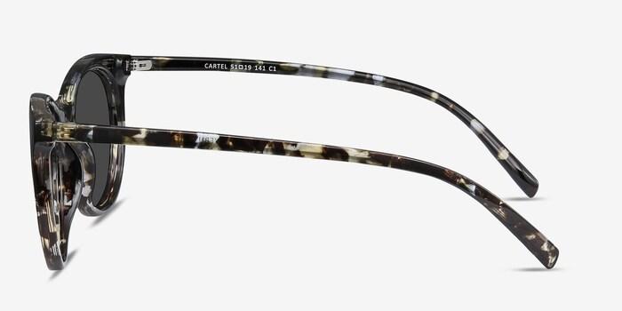 Cartel Tortoise Plastic Sunglass Frames from EyeBuyDirect, Side View