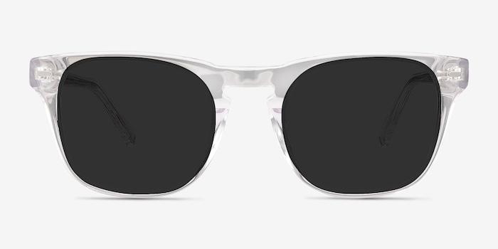 Clear Daikon -  Acetate Sunglasses