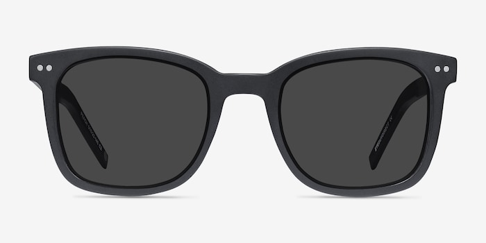 Matte Black Peach -  Acetate Sunglasses