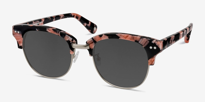 Swift Floral Acetate Sunglass Frames from EyeBuyDirect, Angle View