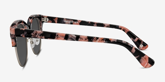 Swift Floral Acetate Sunglass Frames from EyeBuyDirect, Side View