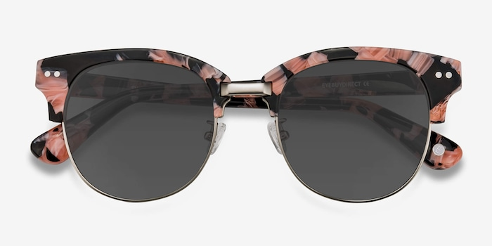Swift Floral Acetate Sunglass Frames from EyeBuyDirect, Closed View