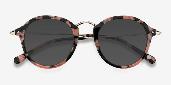 Atmos Floral Acetate Sunglass Frames from EyeBuyDirect, Closed View