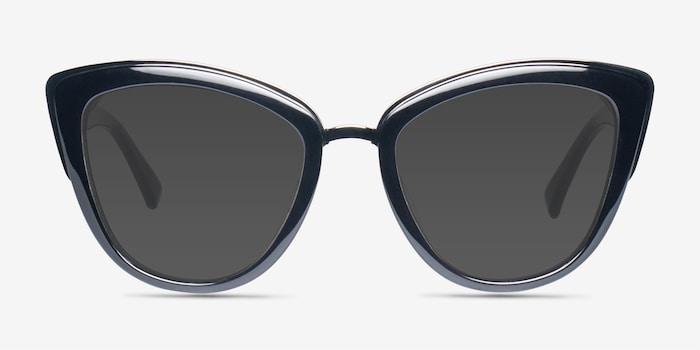 Black Cadenza -  Acetate Sunglasses