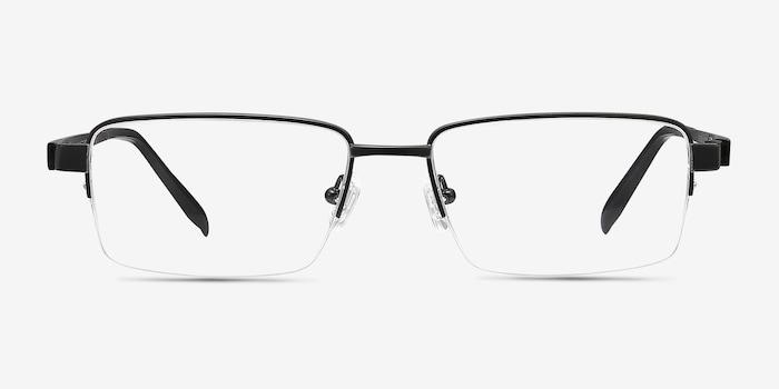 Black Aron -  Lightweight Titanium Eyeglasses