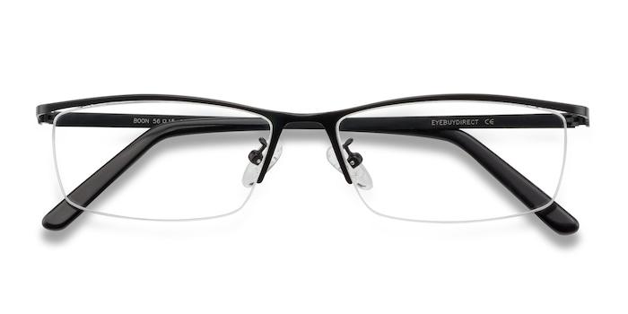 Black Boon -  Metal Eyeglasses