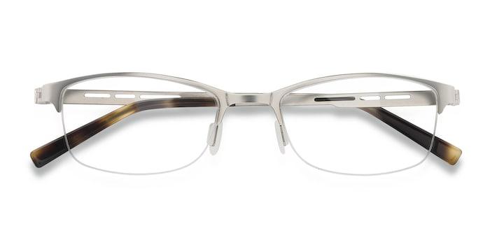 Silver Pearl -  Metal Eyeglasses