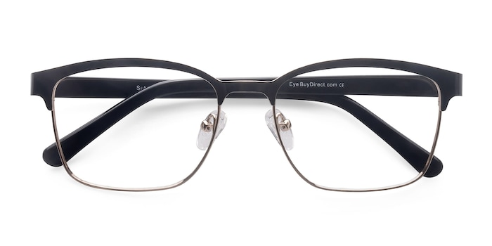 Black Golden  Sublime -  Metal Eyeglasses