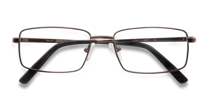 Brown Parcel -  Metal Eyeglasses