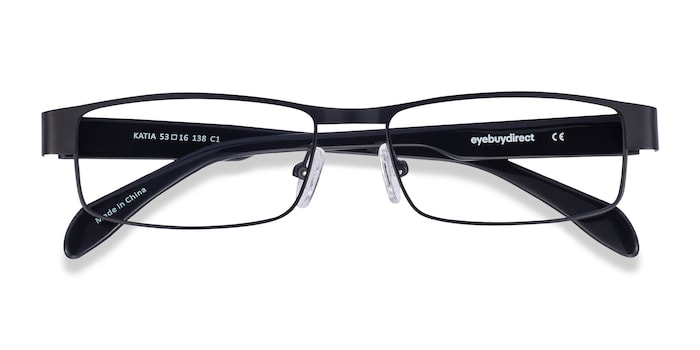 Black Katia -  Metal Eyeglasses