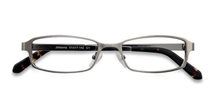 Gunmetal  Johanna -  Classic Metal Eyeglasses