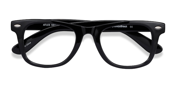 Black Atlee -  Fashion Plastic Eyeglasses
