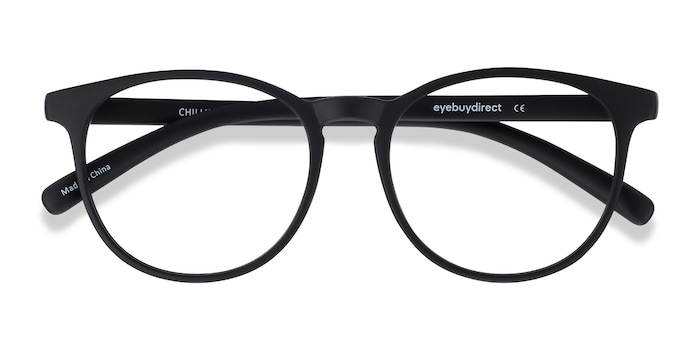 Black Chilling -  Fashion Plastic Eyeglasses