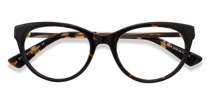 Tortoise Her -  Fashion Acetate Eyeglasses