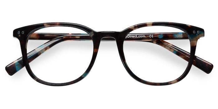 Blue Floral  Demain -  Acetate Eyeglasses