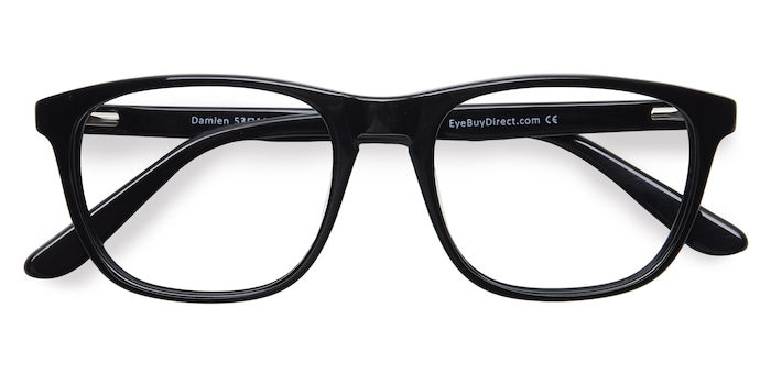 Black Damien -  Acetate Eyeglasses