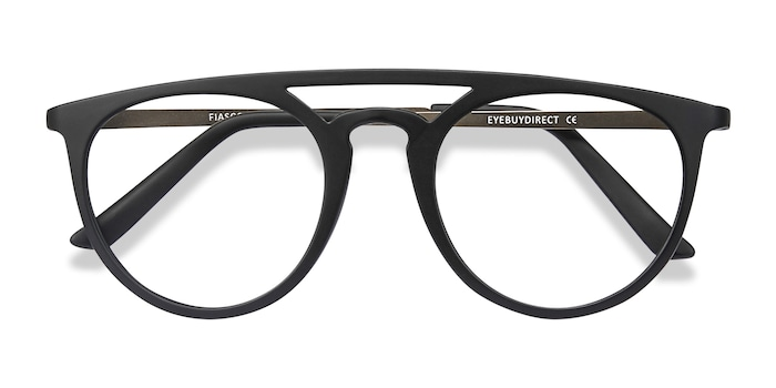 Matte Black Fiasco -  Plastic Eyeglasses