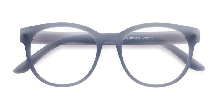 Matte Blue Grace -  Fashion Plastic Eyeglasses