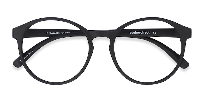 Matte Black Delaware -  Fashion Plastic Eyeglasses