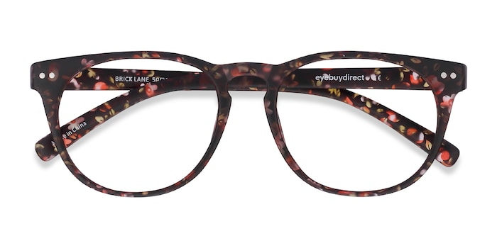 Matte Floral Brick Lane -  Fashion Plastic Eyeglasses