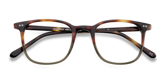 Charred Quartz Sequence -  Acetate Eyeglasses