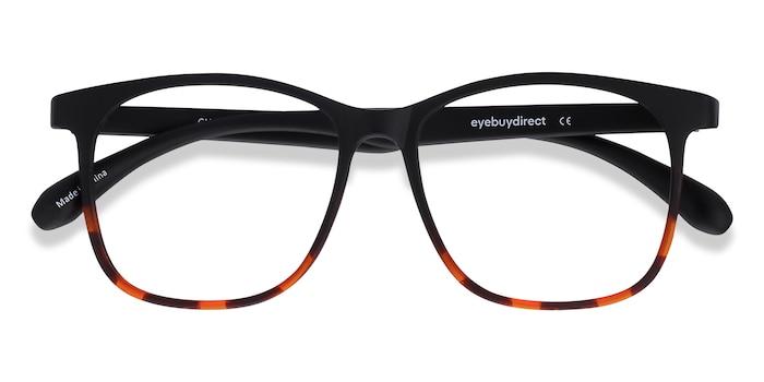 Black Tortoise Character -  Plastic Eyeglasses
