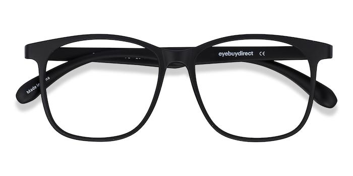 Matte Black Character -  Plastic Eyeglasses