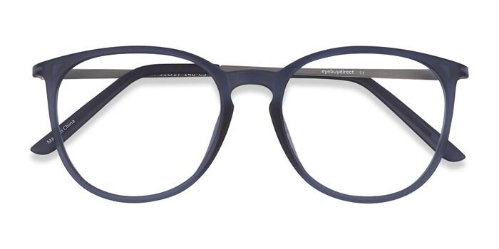 Matte Blue Naomi -  Plastic Eyeglasses