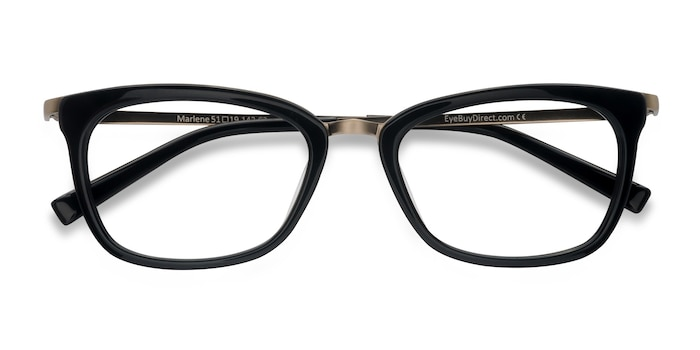 Black Marlene -  Acetate Eyeglasses