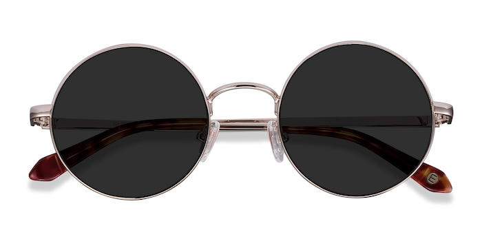 Light Golden  Guru -  Metal Sunglasses