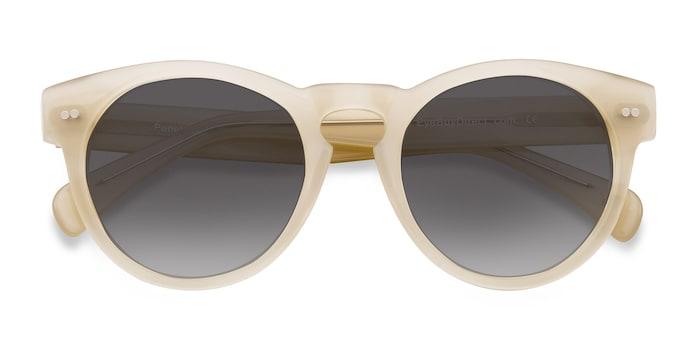Ivory Penelope -  Vintage Plastic Sunglasses