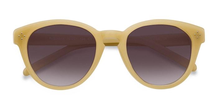 Yellow Augustine -  Vintage Plastic Sunglasses