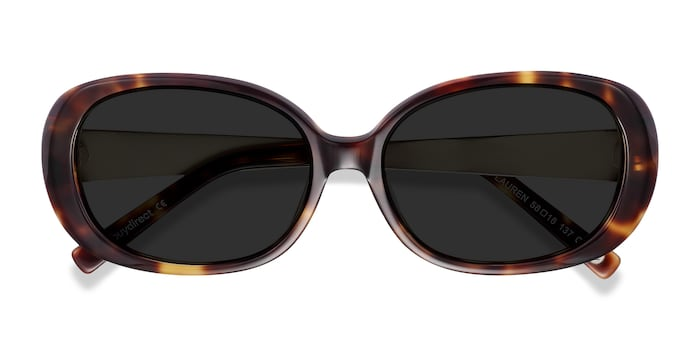 Tortoise Lauren -  Vintage Acetate Sunglasses