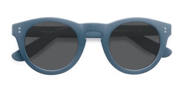Matte Blue Ibiza -  Acetate Sunglasses