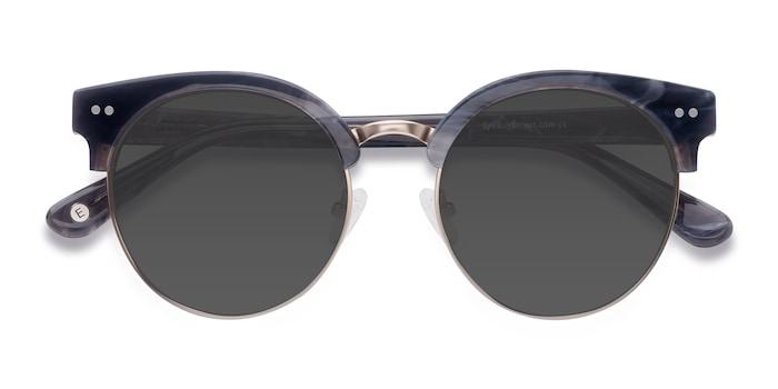 Gray Silicate -  Vintage Acetate Sunglasses