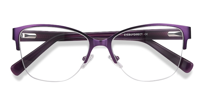 Purple Feline -  Acetate Eyeglasses