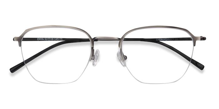 Gunmetal Enya -  Metal Eyeglasses