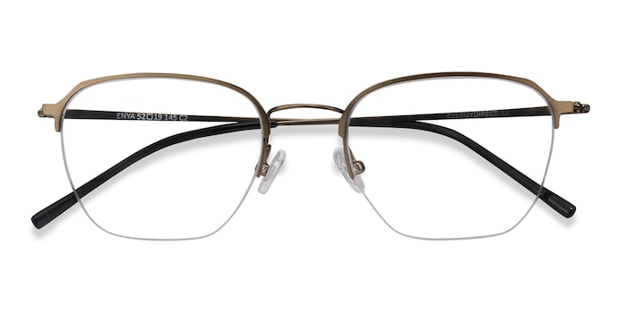 Bronze Enya -  Metal Eyeglasses