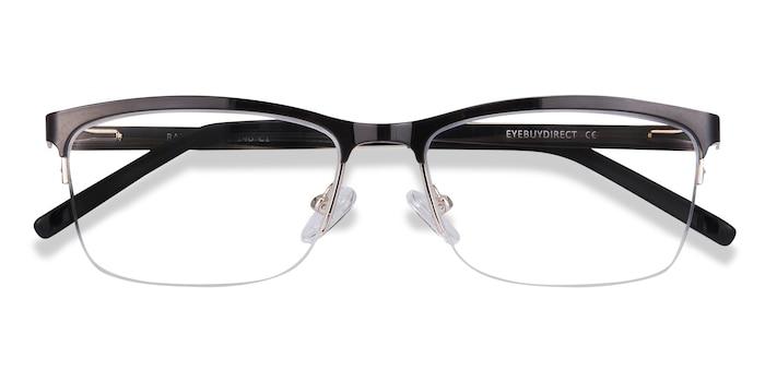 Black Rally -  Metal Eyeglasses