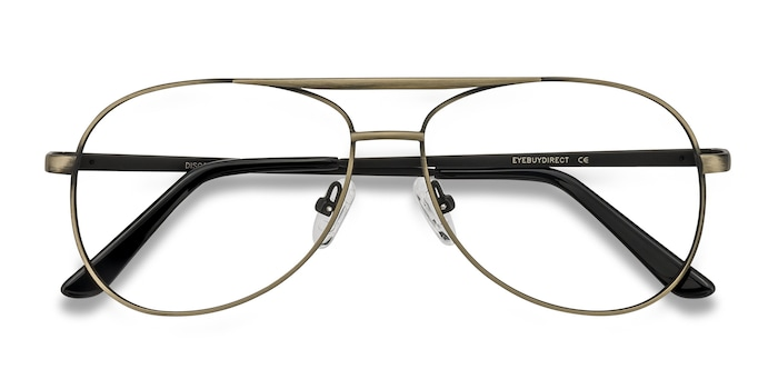 Bronze Discover -  Vintage Metal Eyeglasses